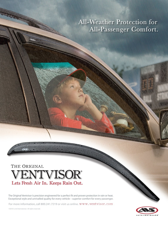 Auto Ventshade 94960 Original Ventvisor 4 Piece
