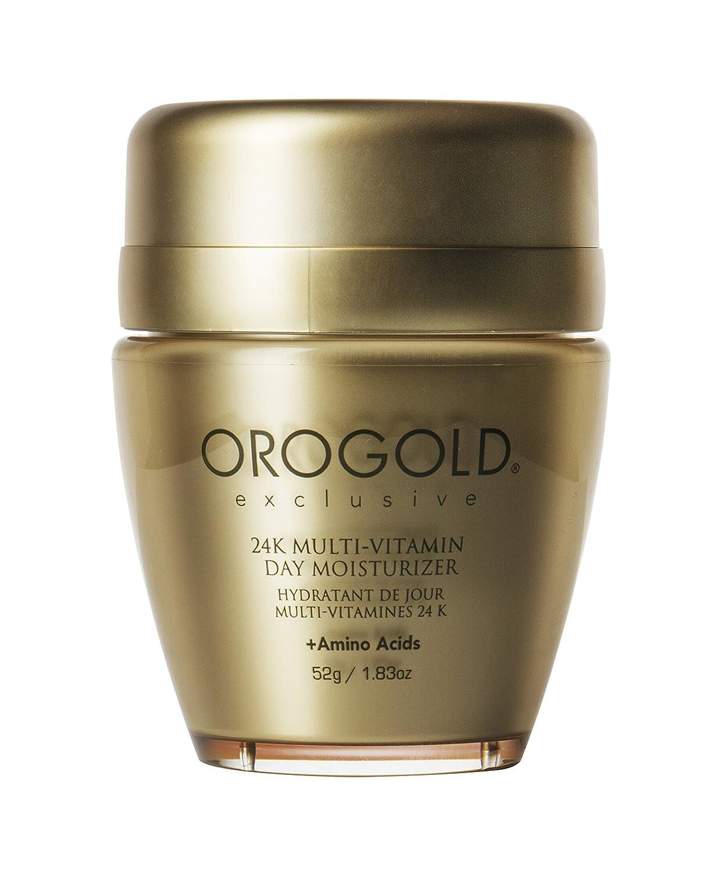 OROGOLD 24K Multi-Vitamin Day Moisturizer with Amino Acids, Day Cream with Vitamin C, Vitamin A and Vitamin E, 52 G / 1.83 Oz.