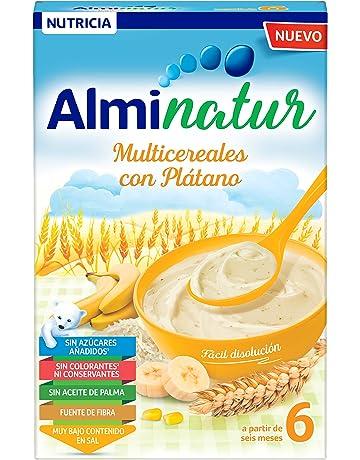 Alminatur Papilla de multicereales con plátano a partir de los 6 meses 250 g