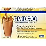 HMR 500 Chocolate Shake, 18 Single-Serve Packets