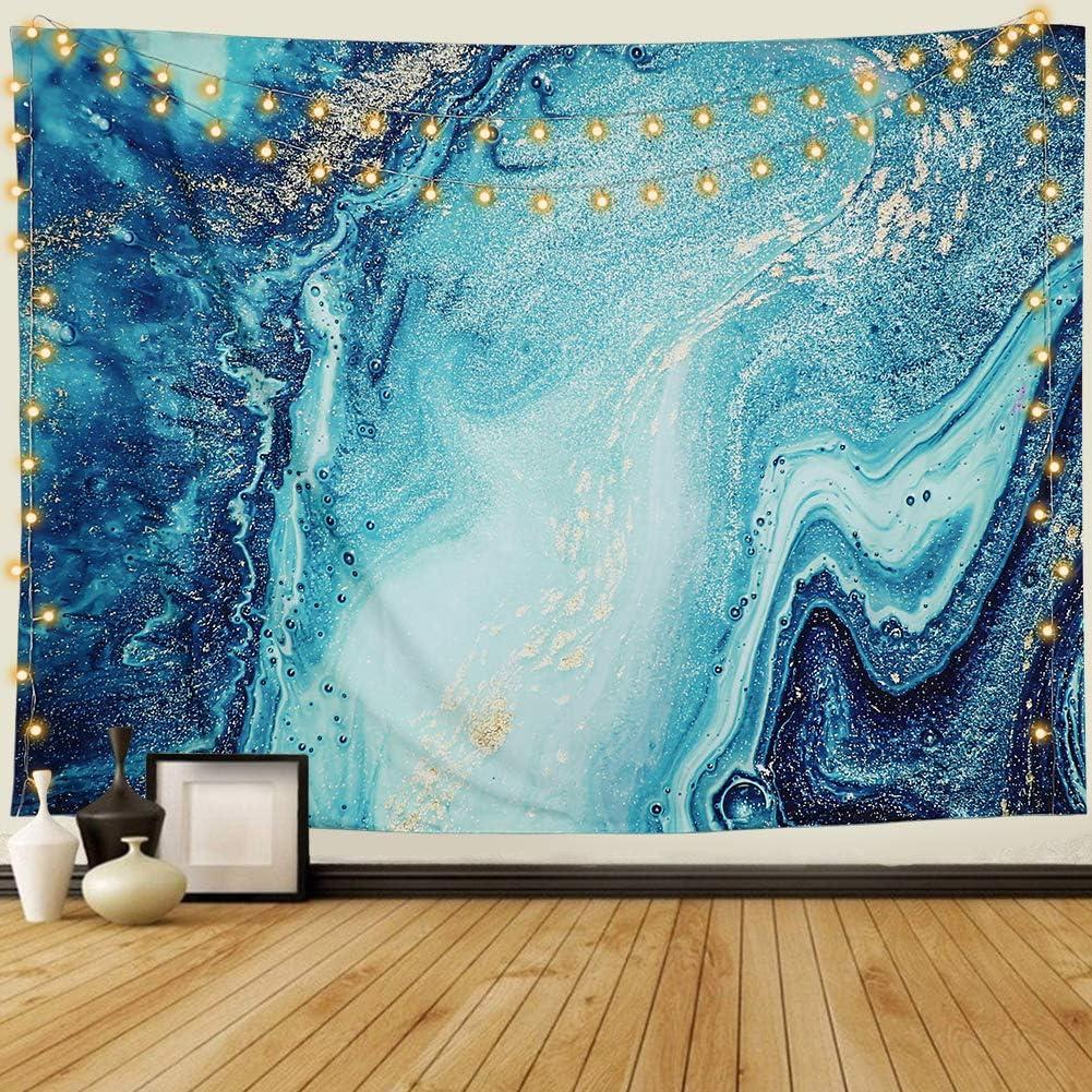 LOMOHOO Tarot-Wandteppich Sonne und Mond Psychedelische Tapisserie Schwarz Himmlisch Wandbehang Wandteppiche indisch Mandala Bohemien Hippie Strand werfen A-Sonne und Mond, M//130cmx150cm