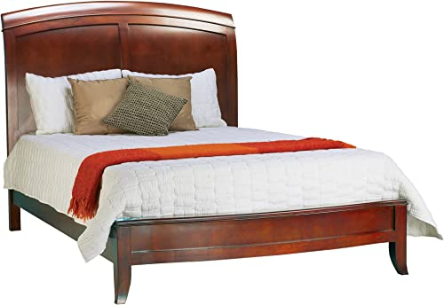 Modus Furniture Brighton Low Profile Sleigh Bed