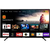 Kodak 140 cm (55 inches) 4K Ultra HD Smart LED TV 55UHDXSMART (Black)