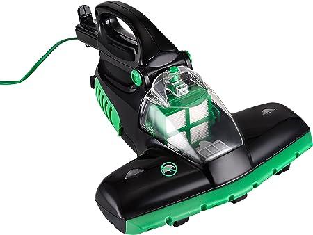Team Kalorik Aspirador de mano, Tecnología de luz UV, Para colchones y alfombras, 400 W, Negro/Verde, TKG HSS 1004: Amazon.es: Hogar