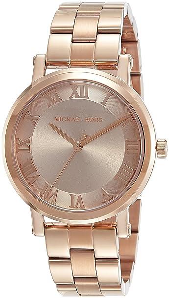 Michael Kors Reloj Analógico para Mujer de Cuarzo con Correa en Acero Inoxidable MK3561: Amazon.es: Relojes