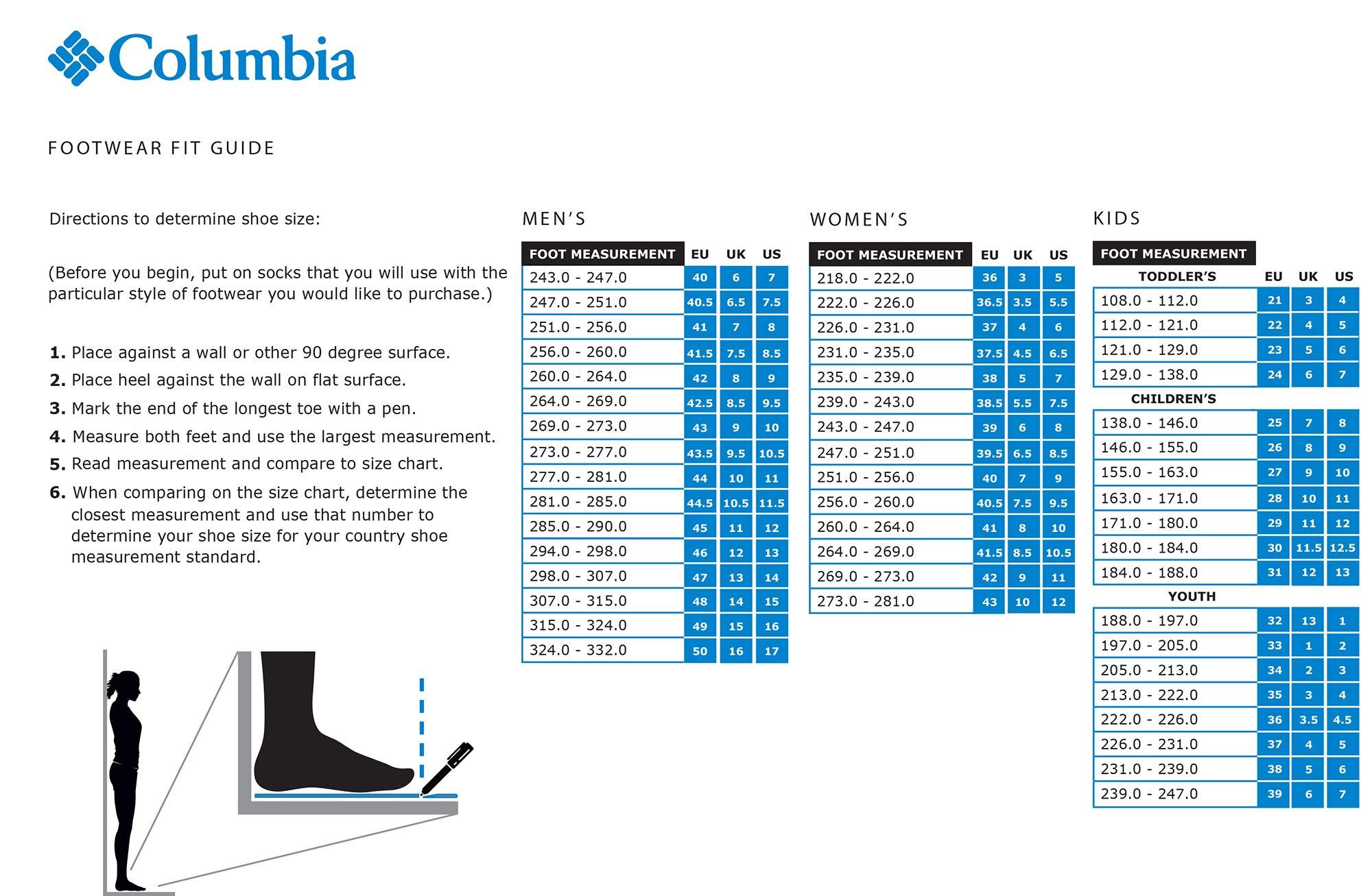 Columbia Girls' Childrens Powderbug Plus II Snow Boot, Grey ash, Rosewater, 11 Regular US Little Kid by Columbia (Image #6)