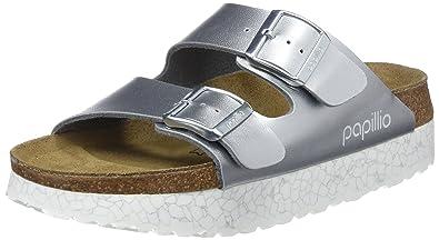 1a27701821b6 Papillio Arizona, Damen Sandalen, Grau (Monochrome Marble Silver Monochrome  Silver), 35