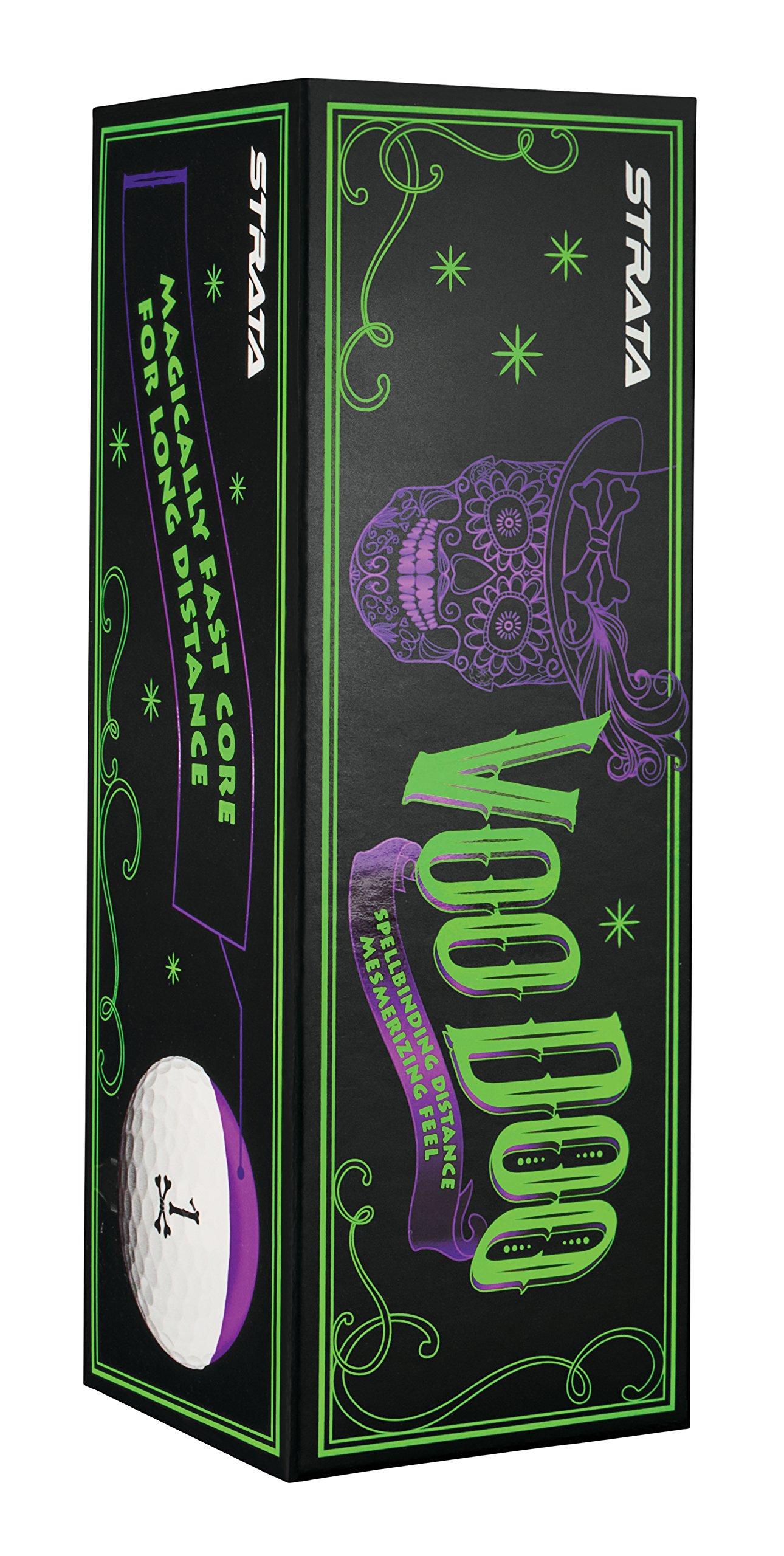 Strata 2018 Voodoo Golf Balls (One Dozen) by Callaway (Image #3)