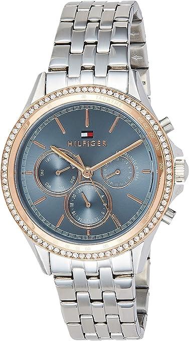 Tommy Hilfiger Multisphere Senhoras Quartz Watch com pulseira de aço inoxidável 1781976