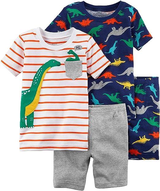 Amazon.com: Carter bebé Boy 4 pc juego de pijama pijamas de ...