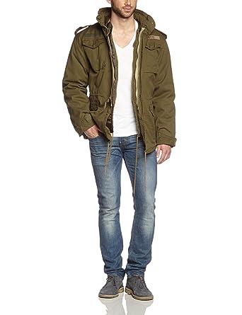 Surplus M65 Regiment Jacket Olive at Amazon Men s Clothing store  f6151e1adec