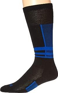 product image for Thorlos Ultra Thin Ski Black/Laser Blue XL (Men's Shoe 12-14)