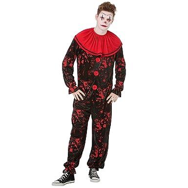 c25421e33b1 Amazon.com  Boo Inc. Crimson Clown Mens Halloween Costume