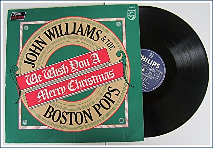 Image result for john Williams we wish you a merry christmas lp  image