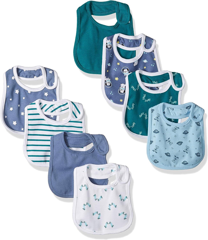 Hanes Ultimate Baby Flexy 8 Pack Bibs