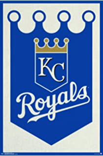 """Trends International Kansas City Royals Logo Wall Posters, 22"""" by 34"""""""