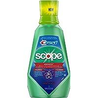 Crest Scope Advanced Muti-Action Fluoride Mouthwash, 1l