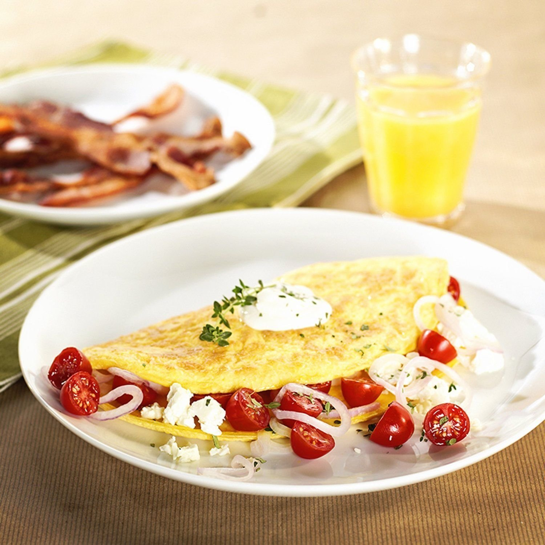 Delaman Padella per Uova Padella Pieghevole Attrezzo da Cucina Piccole Uova per Frittate Colazione in Pentola Antiaderente