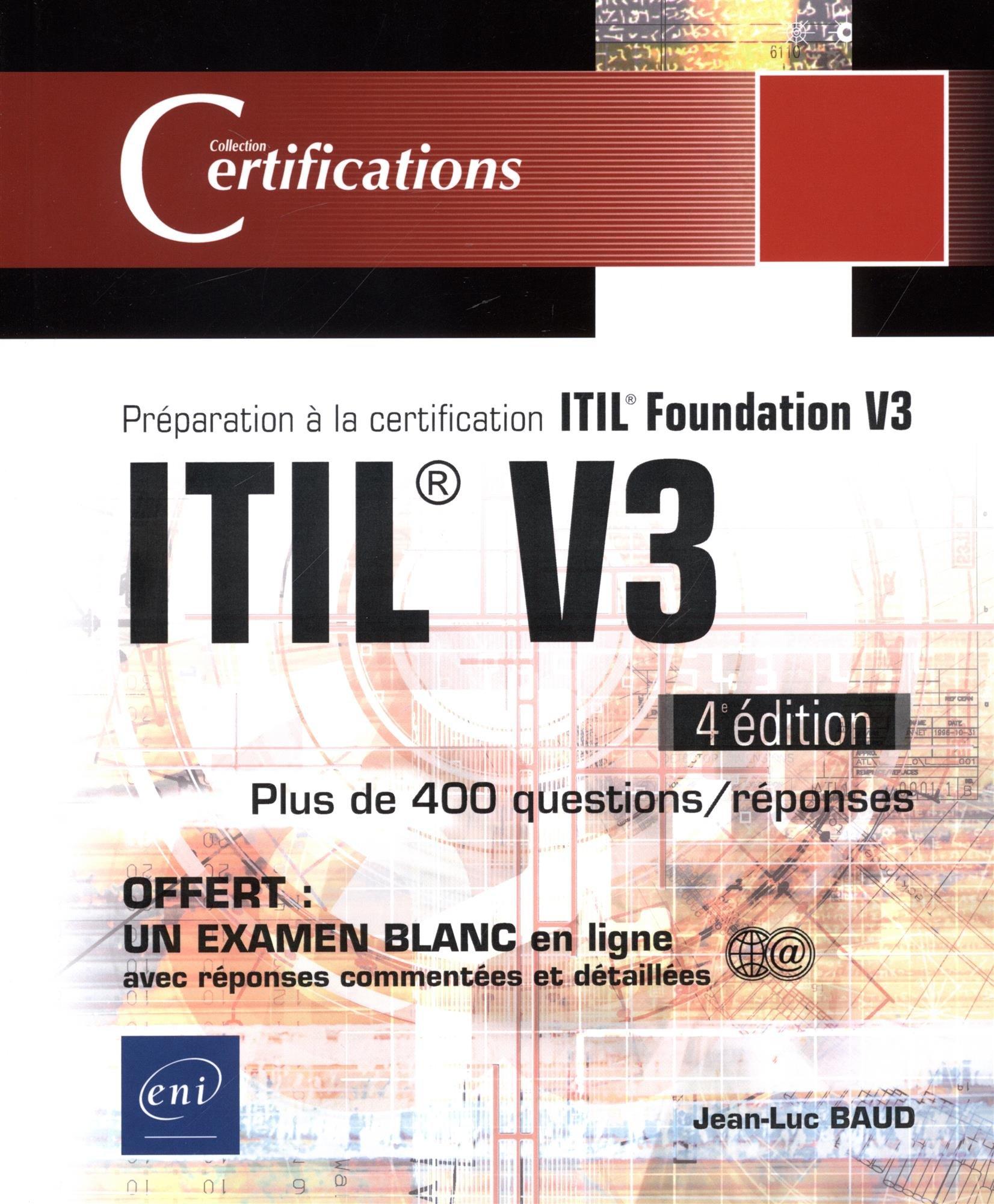 Itil V3 Prparation La Certification Itil Foundation V3 4e