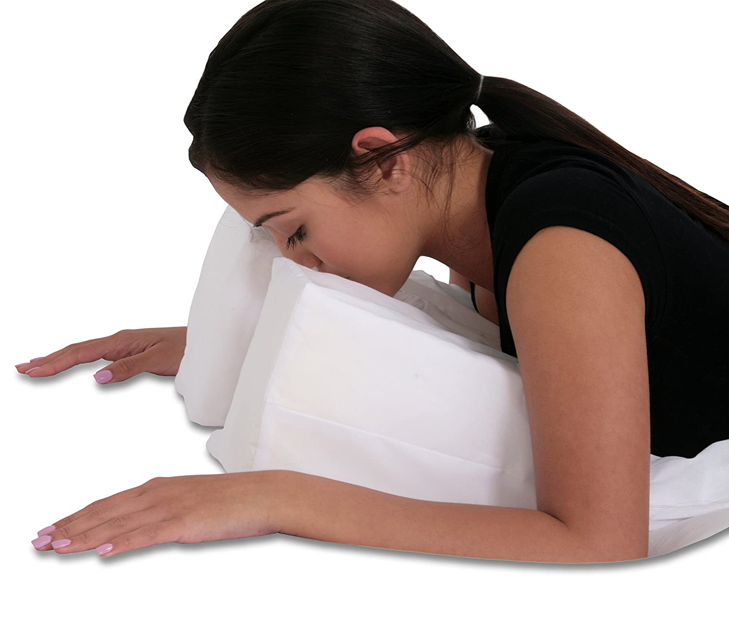 Stomach sleeper pillow amazonimage credit amazon wer for Best down pillows for stomach sleepers