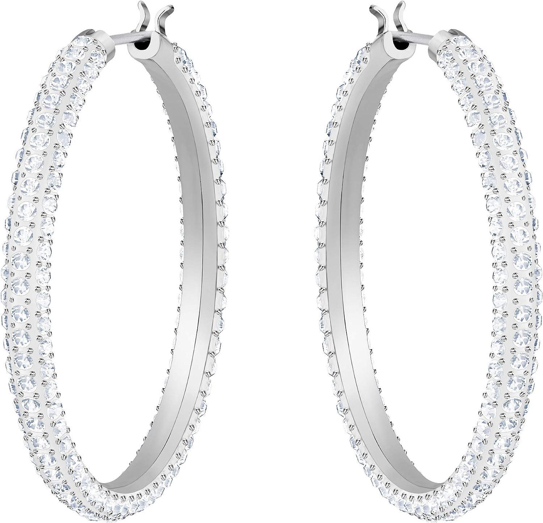 pour femme cristal blanc Cr/éoles Swarovski Stone