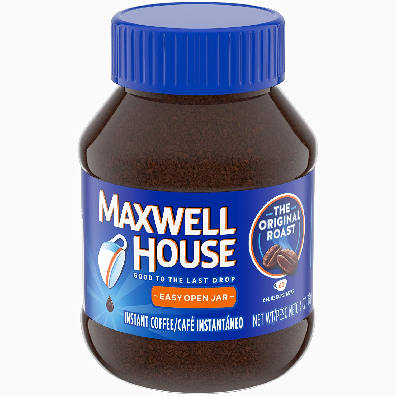Maxwell House Instant Original Roast Coffee, 4 oz Jar