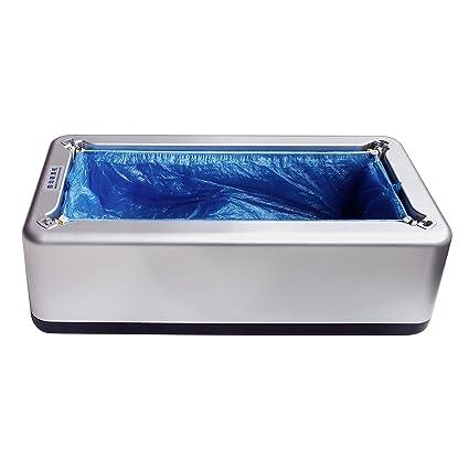 Automático dispensador de cubierta para zapatos con una caja de libre de recambios, dispensador de