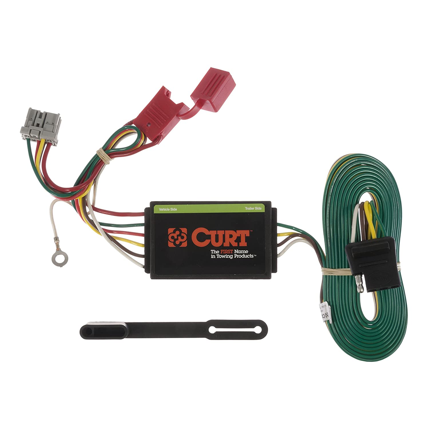 CURT 56161 Vehicle-Side Custom 4-Pin Trailer Wiring Harness for Select Honda Odyssey
