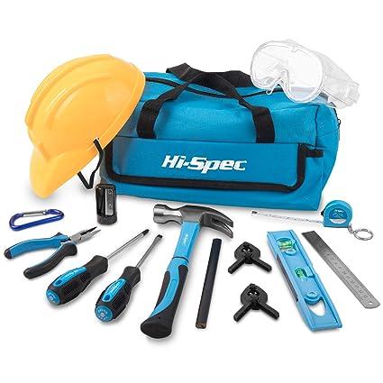 Apollo Kit de 15 piezas de herramientas de mano - todo en una bolsa de almacenamiento