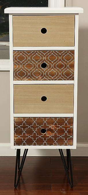 Amazon.com: Oliver y Smith – Colección mosaico – de madera 4 ...