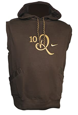 discount new york top quality Nike 'Ronaldinho 10R' Sleeveless Hoodie - Brown