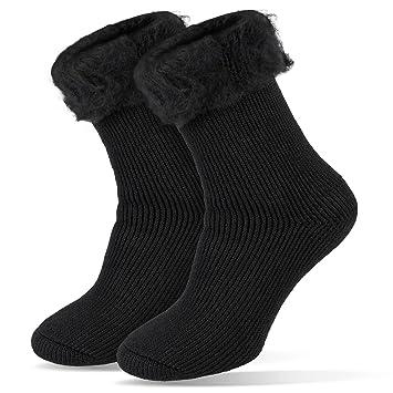 Hombre de Calcetines térmicos Invierno Medias extracálido 2.3 TOG, Negro, 41/46: Amazon.es: Deportes y aire libre