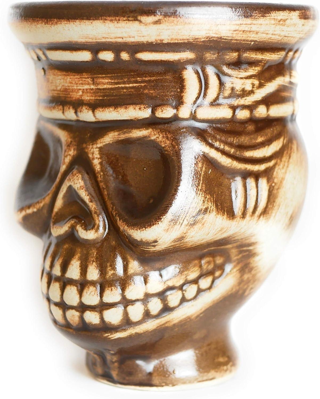 Cazoleta Maya para Shisha o Cachimba - Compatible con Provost, Kaloud y otros gestores de calor - Cerámica