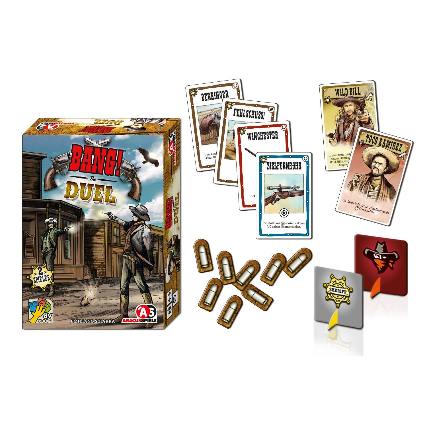 ABACUSSPIELE 38161 - Bang. The Duel,: Amazon.es: Juguetes y ...