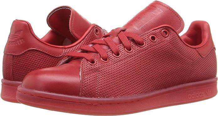 Adidas Baskets Basses pour Homme Rouge Scarlet Scarlet Scarlet, 43 EU