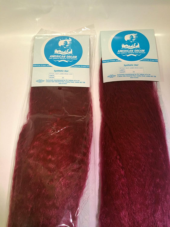 Amazon com : American Dream Silky Jumbo Braid Braiding Hair
