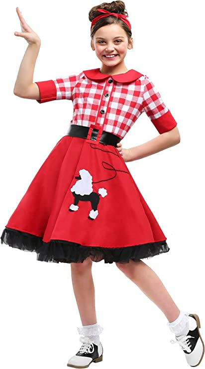 Vintage Style Children's Clothing: Girls, Boys, Baby, Toddler 50s Darling Girls Costume $24.99 AT vintagedancer.com