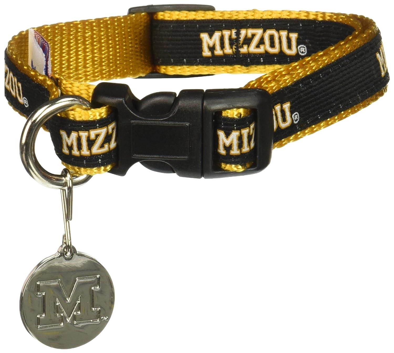Team Color Large NCAA Missouri Tigers Dog Collar