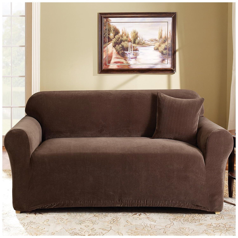 Amazoncom Stretch Pearson Sofa Slipcover Color Federal Blue