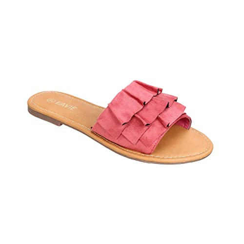 a1d2cd8a4a6f Lavie Women s Pink Slippers-3 UK India (36 EU) (FZFO714022N)  Buy ...