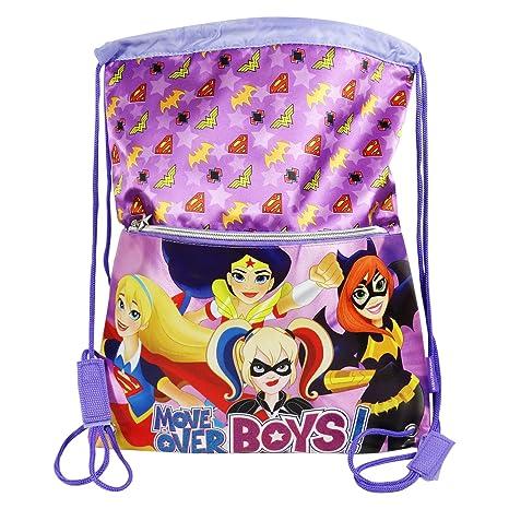 DC Comics Super Hero Girls Bolsas de morral de lazo Mochila ...