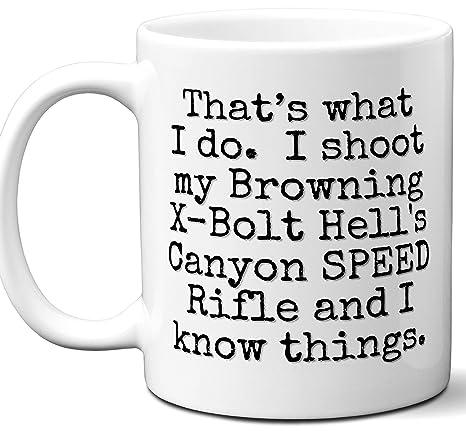 Amazon com: Gun Gifts For Men, Women  Browning X-Bolt Hell's