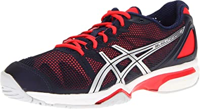 sports shoes eb882 568bf ASICS Women s Gel-Solution Speed Tennis Shoe,Eclipse Lightning Diva Pink,