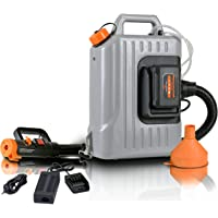 SuperHandy Cordless Disinfectant Fogger Machine Powered by a 48V DC 350W Li-Ion Driven Electric Motor