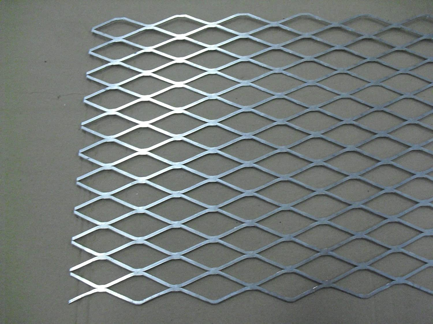 .081 thick AL Aluminum Flattened Expanded Sheet 5052 12x36