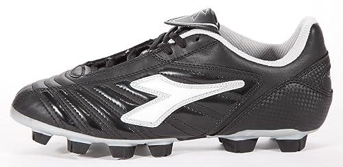 9997bfd1c1ce Diadora Men's Football Boots Black Schwarz/Silber: Amazon.co.uk ...