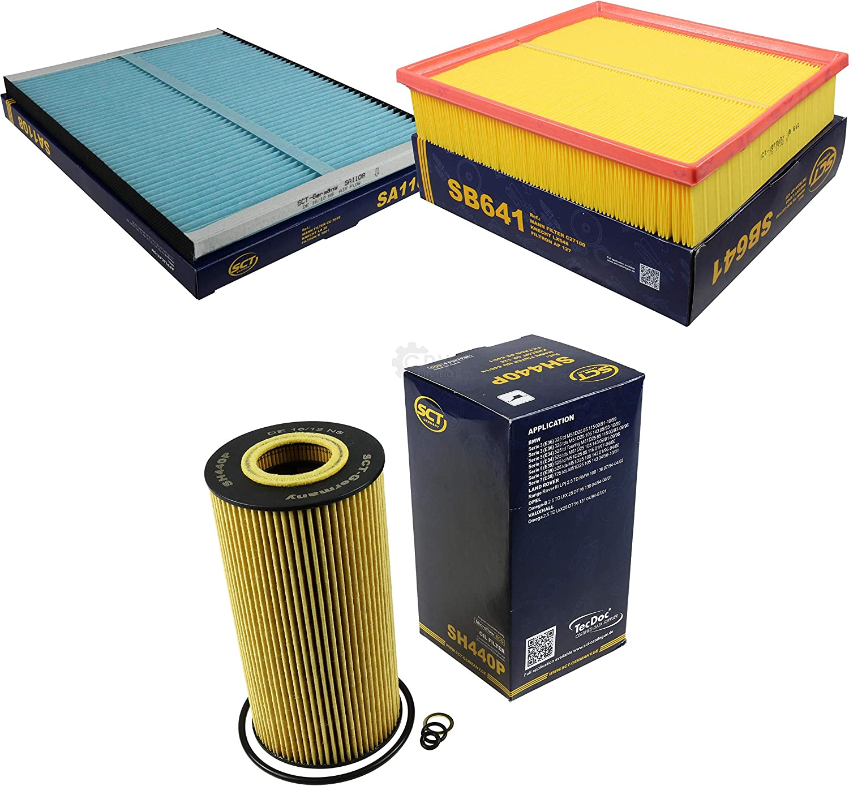 Sct Inspektions Set Inspektionspaket Innenraumfilter Luftfilter Ölfilter Auto