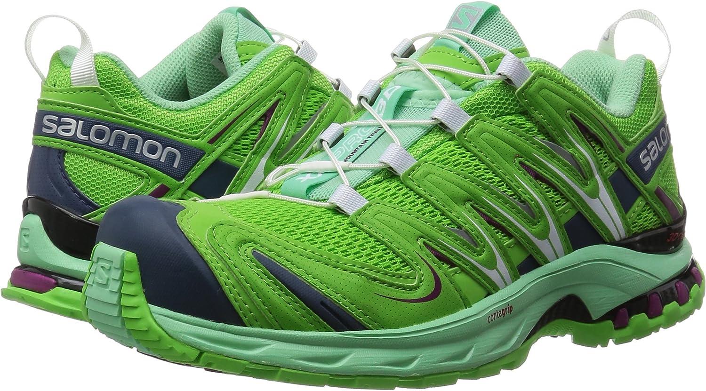 Salomon XA Pro 3D - Zapatillas de trail running Mujer, Verde (Tonic Green / Lucite Green / Mystic Pur), 36 2/3: Amazon.es: Zapatos y complementos