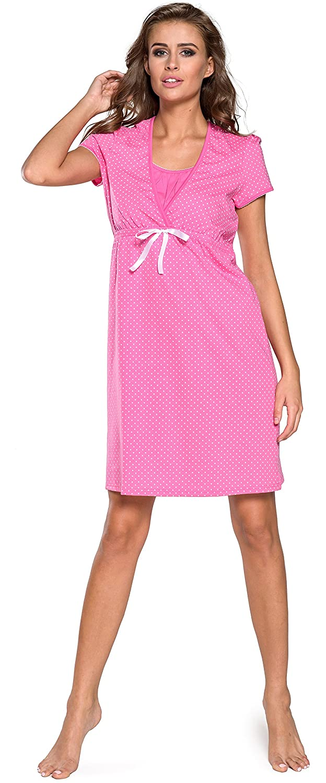 Italian Fashion Maternit/é Chemise de Nuit V/êtement Grossesse Femme J4J 0114