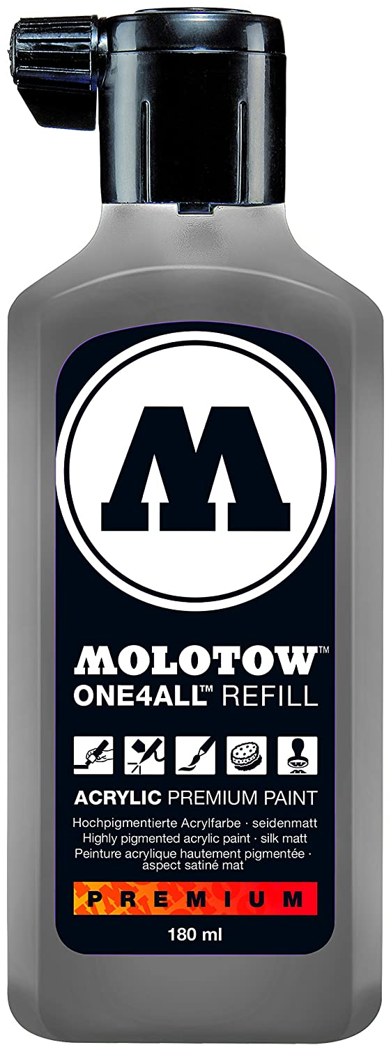 1 Each 227.218 Molotow ONE4ALL Acrylic Paint Marker 4mm Cool Grey Pastel